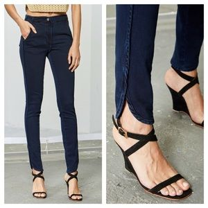 Rachel Comey Jig Pant In Indigo Stretch Denim